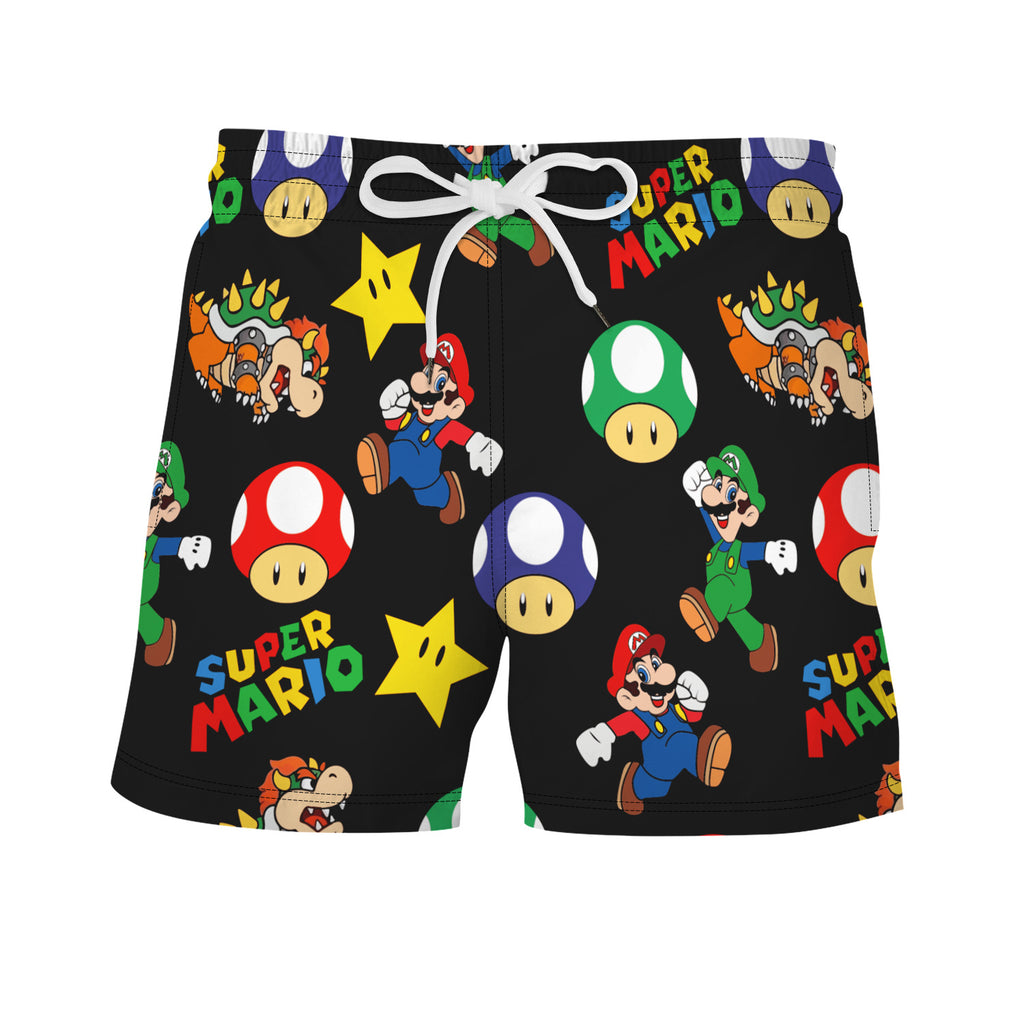 Men's Super Mario Beach Shorts