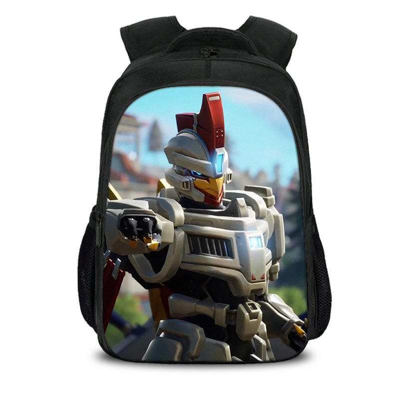 Sentinel Fortnite Season 9 Backpack Kids 16 Inch For School
