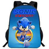Kids Sonic The Hedgehog Movie 2020 Printed Backpack
