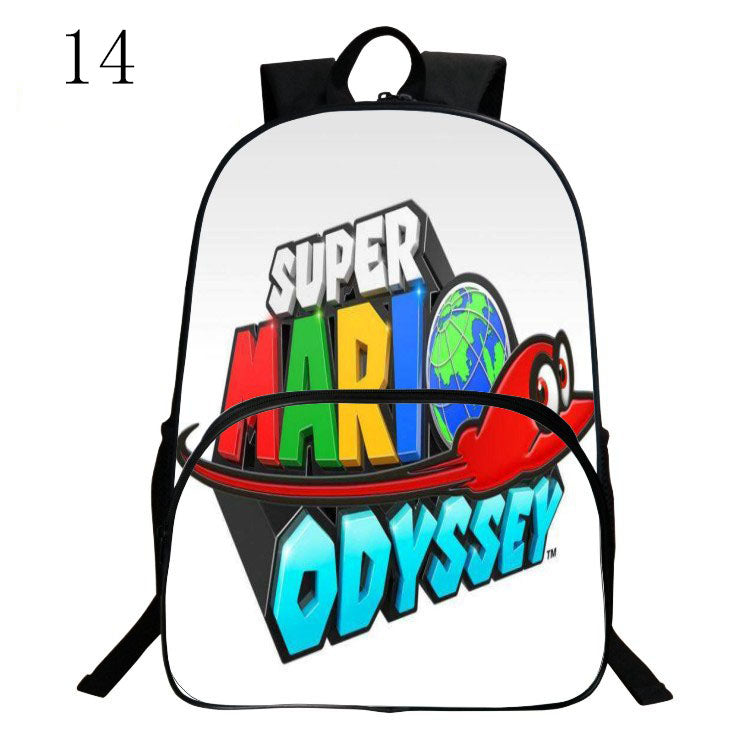 New Fashion Super Mario Cute backpack