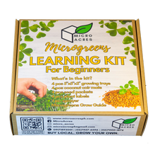 Load image into Gallery viewer, Microgreens Learning Kit for BEGINNERS