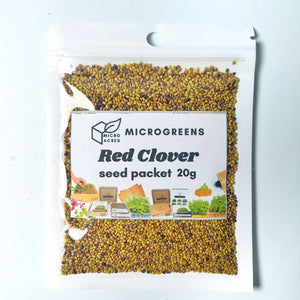 Red Clover Seed Packet