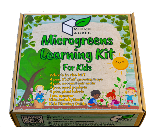 Microgreens Learning Kit for KIDS