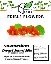 Load image into Gallery viewer, Nasturtium seed packet