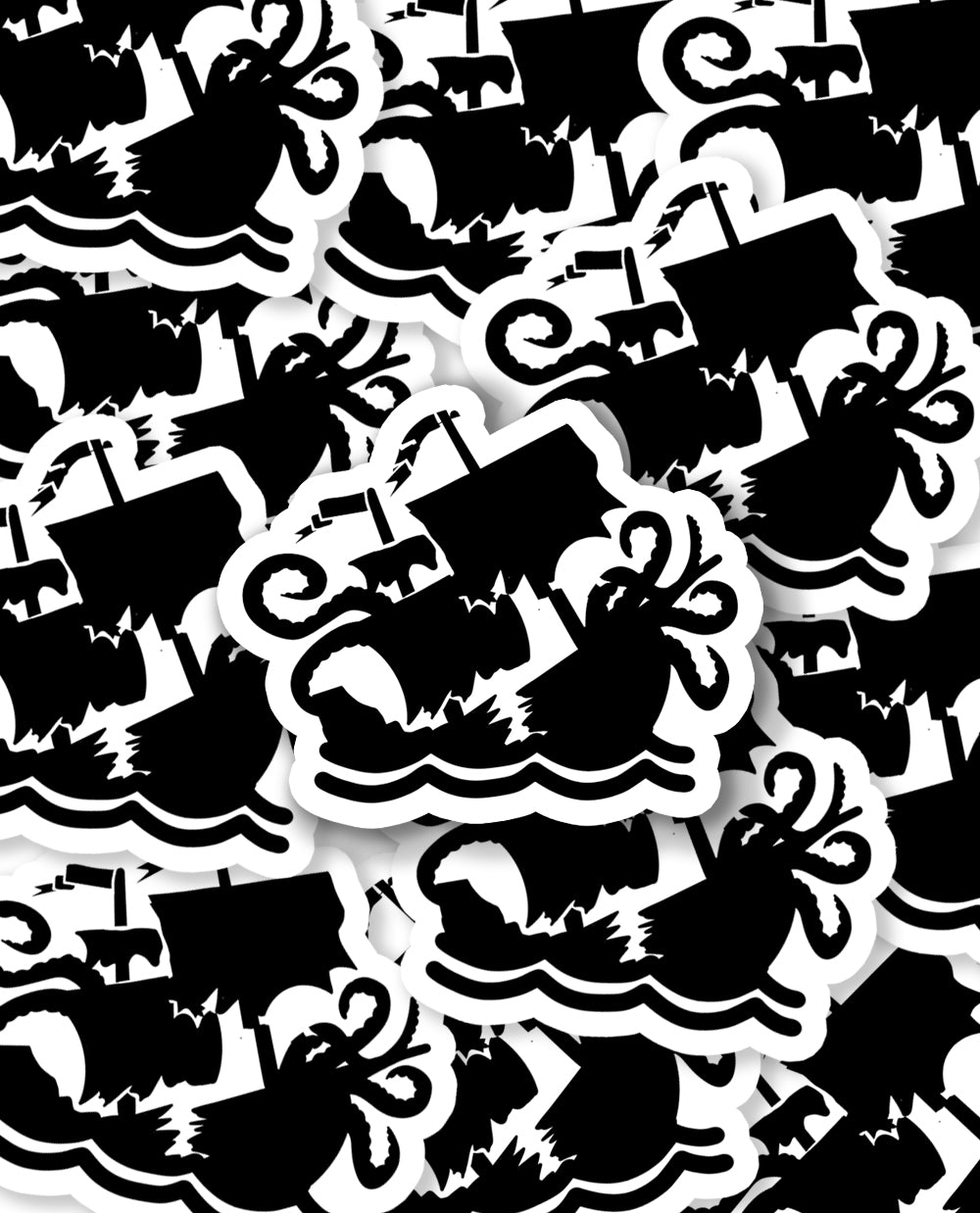 Kraken Sticker Large