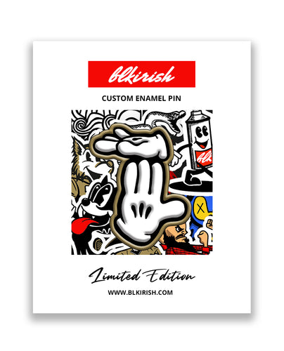 McMichigan Enamel Pin