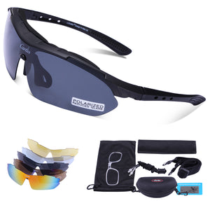 Polarized Sport Sunglasses for Men and Women