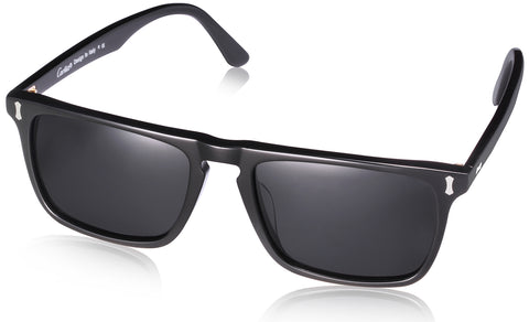 Rectangular Polarized Mens Sunglasses