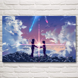 Your Name Silk Poster(3 Styles)