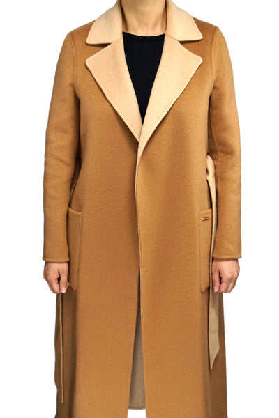 Gobi Cashmere Coat 100% Cashmere Reversible Wrap Coat