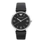 Emporio Armani Kappa Leather Watch AR11013 - Front