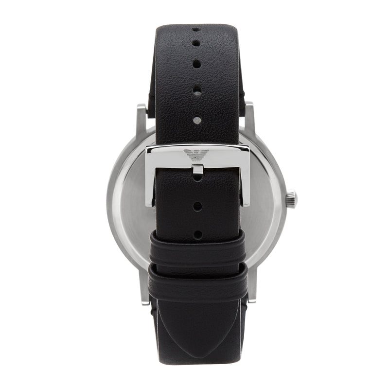 Emporio Armani Kappa Leather Watch AR11013 - Back