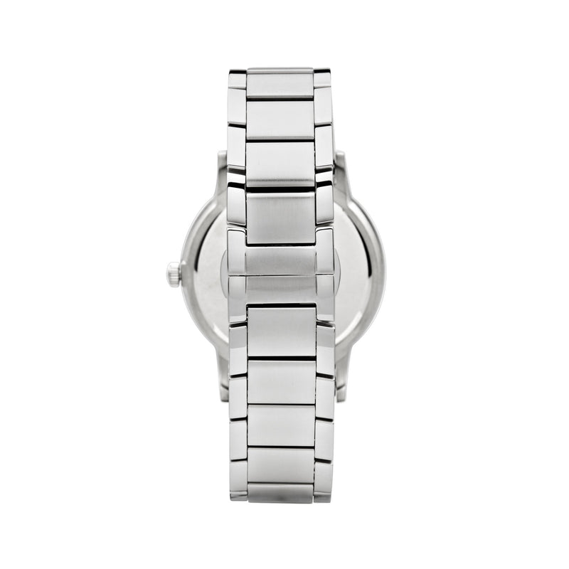 Emporio Armani Renato Watch AR11181 Black/Silver - Back