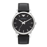Emporio Armani Luigi Leather Watch AR1692 - Front