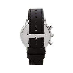 Emporio Armani Luigi Chronograph Watch AR1828 Black - Back
