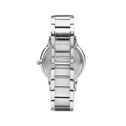 Emporio Armani Renato Watch AR2457 Black/Silver - Back