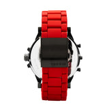Diesel Mr. Daddy 2.0 Men's Chronograph Watch Red/Gunmetal DZ7370 - Back