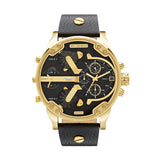Diesel Mr. Daddy 2.0 Chronograph Watch DZ7371 Gold/Black - Front
