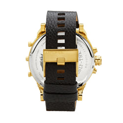 Diesel Mr. Daddy 2.0 Chronograph Watch DZ7371 Gold/Black - Back