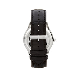 Hugo Boss Governor Watch 1513485 Black/Silver - Back