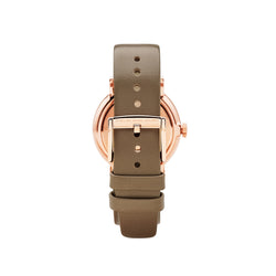 Marc Jacobs Ladies Baker Watch MBM1266 - Rose Gold/Grey Back