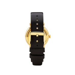 Marc Jacobs Ladies Baker Watch MBM1269 - Gold/Black Back