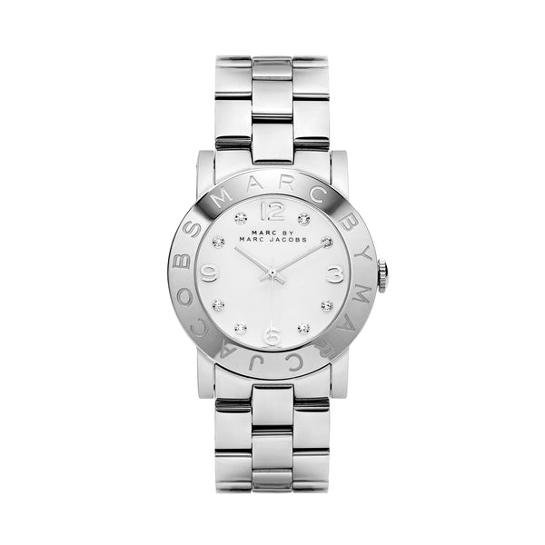 Marc Jacobs Amy Watch MBM3054 Silver - Front