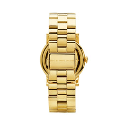 Marc Jacobs Amy Watch MBM3056 Gold - Back