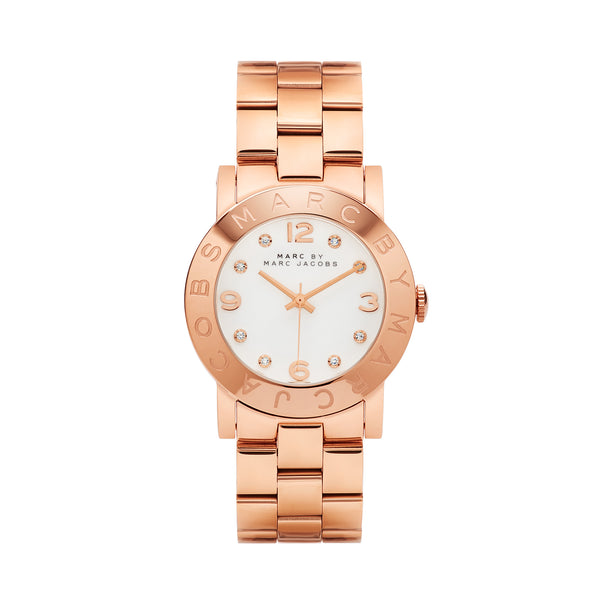 Marc Jacobs Amy Watch MBM3077 Rose Gold - Front
