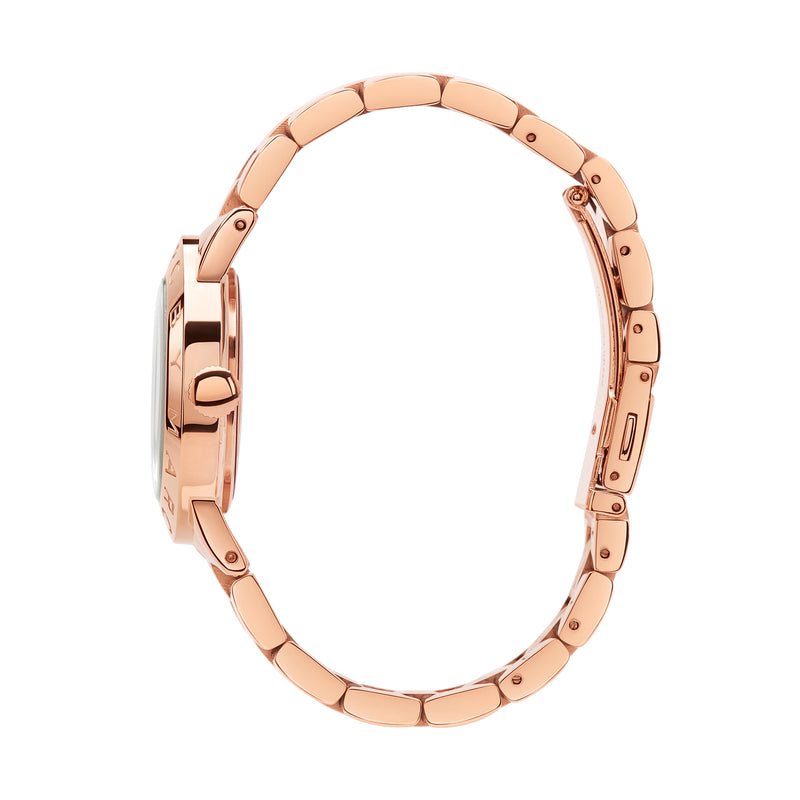 Marc Jacobs Amy Watch MBM3077 Rose Gold - Side