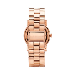 Marc Jacobs Amy Watch MBM3077 Rose Gold - Back