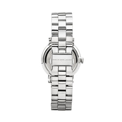 Marc Jacobs Ladies Baker Watch MBM3242 - Silver Back
