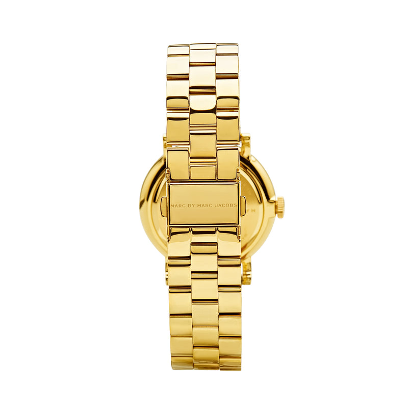 Marc Jacobs Baker Watch MBM3243 Gold - Back
