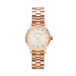 Marc Jacobs Ladies Baker Watch MBM3244 - Rose Gold Front