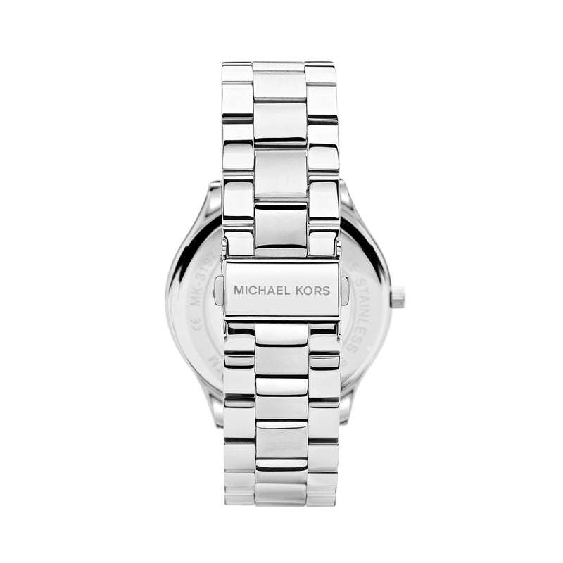 Michael Kors Runway Watch MK3178 Silver - Back