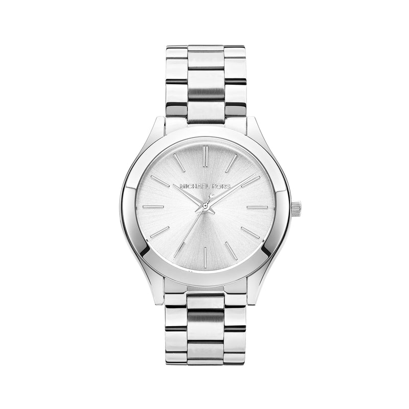 Michael Kors Runway Watch MK3178 Silver - Front