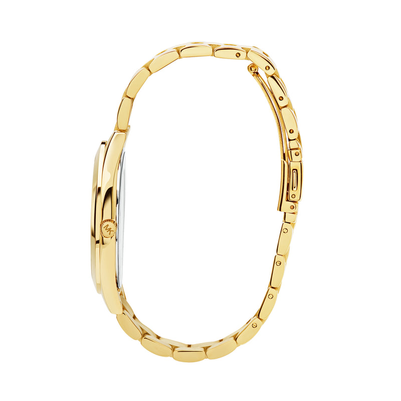 Michael Kors Runway Watch MK3179 Gold - Side