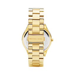 Michael Kors Runway Watch MK3179 Gold - Back