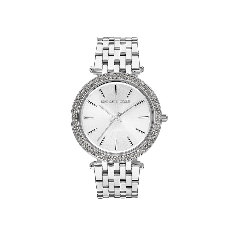 Michael Kors Ladies Darci Watch MK3190 - Silver Front