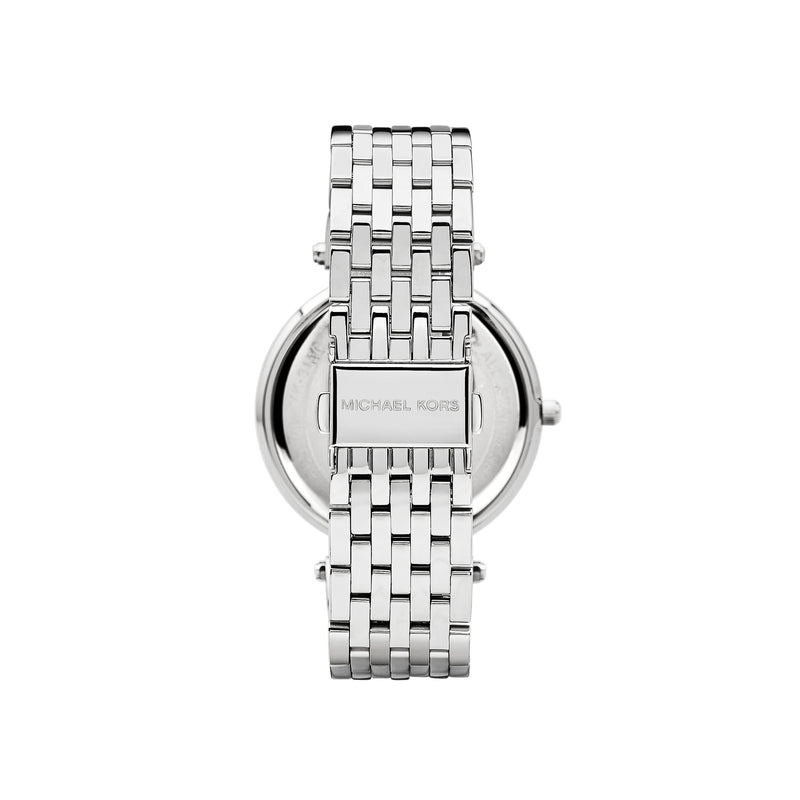 Michael Kors Ladies Darci Watch MK3190 - Silver Back