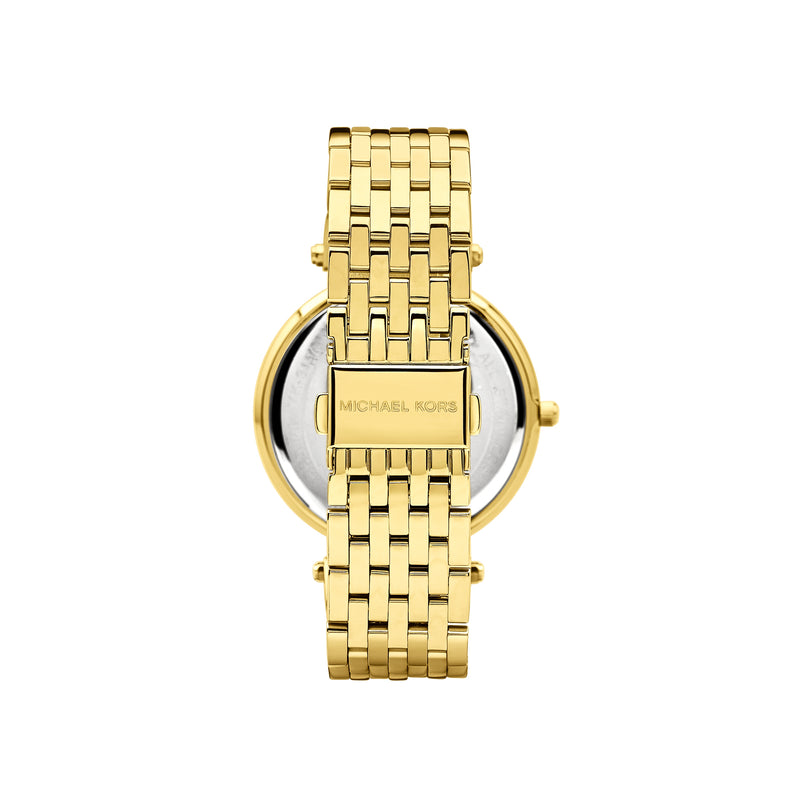 Michael Kors Ladies Darci Watch MK3191 - Gold Back