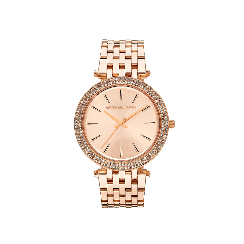 Michael Kors Ladies Darci Watch MK3192 - Rose Gold Front