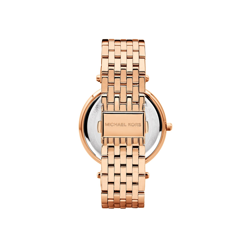 Michael Kors Ladies Darci Watch MK3192 - Rose Gold Back