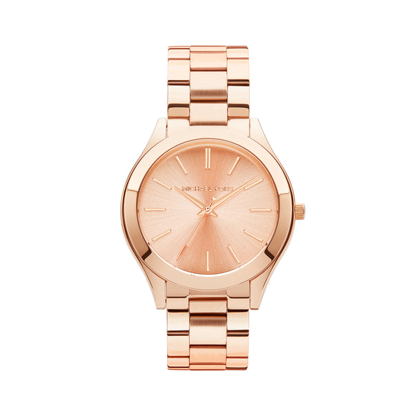 Michael Kors Runway Watch MK3197 Rose Gold - Front