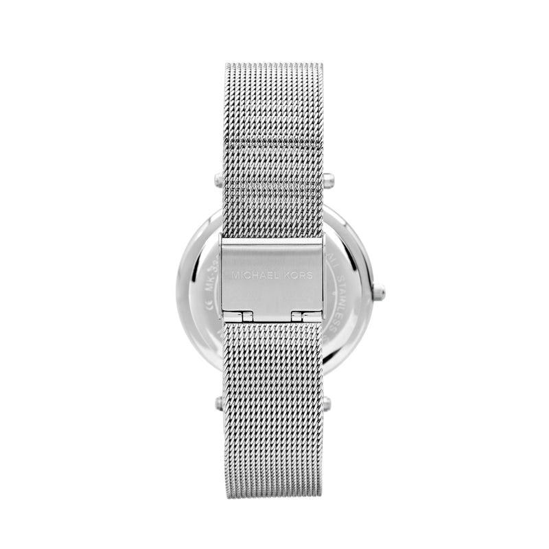 Michael Kors Mesh Darci Watch MK3367 Silver - Back