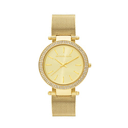 Michael Kors Mesh Darci Watch MK3368 Gold - Front