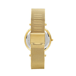 Michael Kors Mesh Darci Watch MK3368 Gold - Back