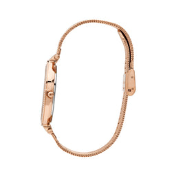 Michael Kors Mesh Darci Watch MK3369 Rose Gold - Side