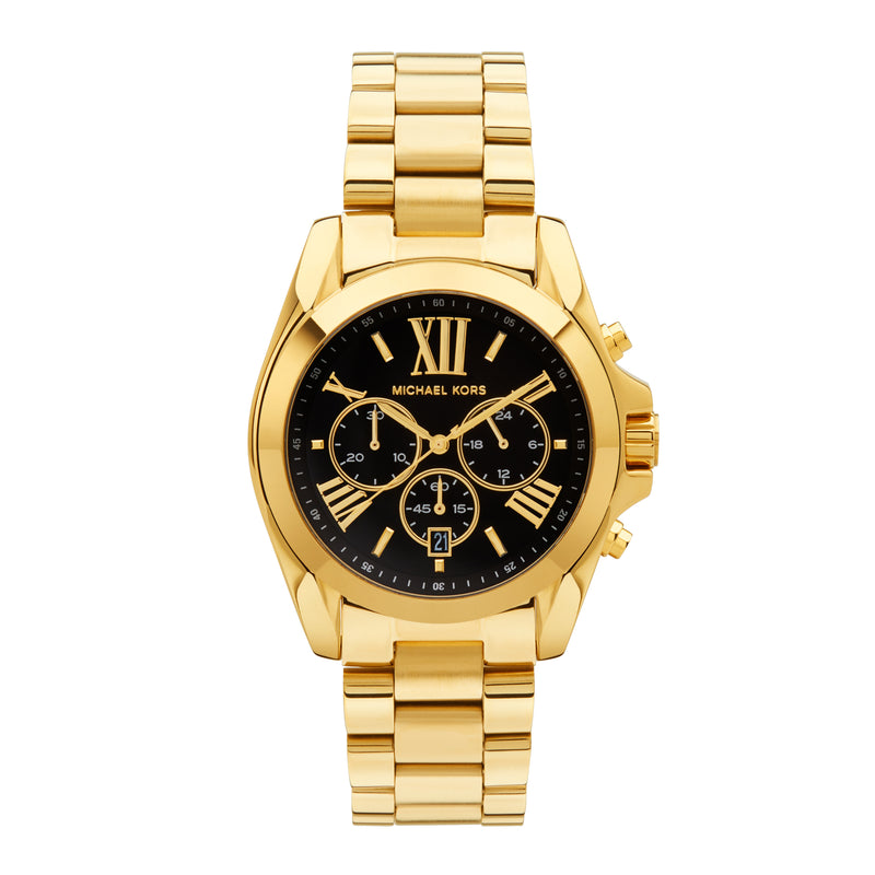 Michael Kors Bradshaw Chronograph Watch MK5739 - Gold/Black