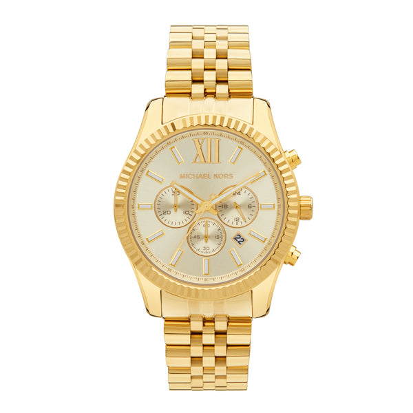Michael Kors Lexington Chronograph Watch MK8281 - Front